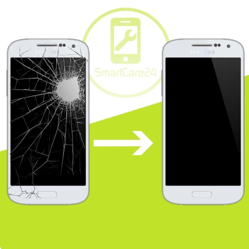 samsung galaxy s5 s5 mini frontglas reparatur smartcare24. Black Bedroom Furniture Sets. Home Design Ideas