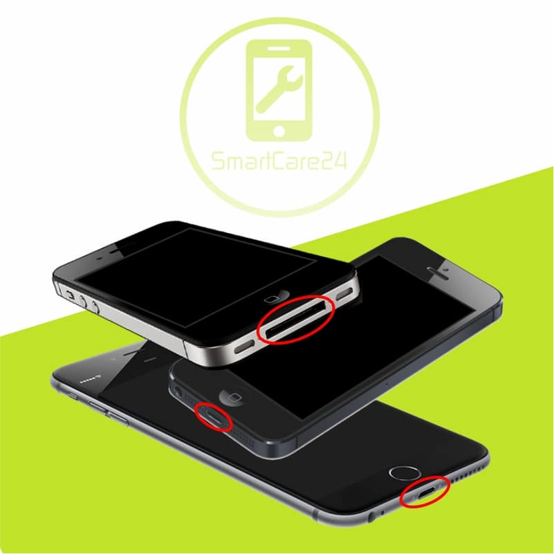 apple iphone 7 ladebuchse lightning adapter reparatur smartcare24. Black Bedroom Furniture Sets. Home Design Ideas